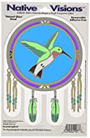 Native Visions Window Transparencies Foil, Hummingbird by Native Visions