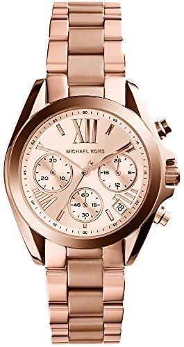 マイケルコース 腕時計 Chronograph Rose Dial Rose Ladies BRADSHAW MK5799 レディース [並行輸入品]
