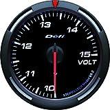 日本精機 Defi (デフィ) メーター【Racer Gauge】60φ 電圧計 (ホワイト) DF-11903