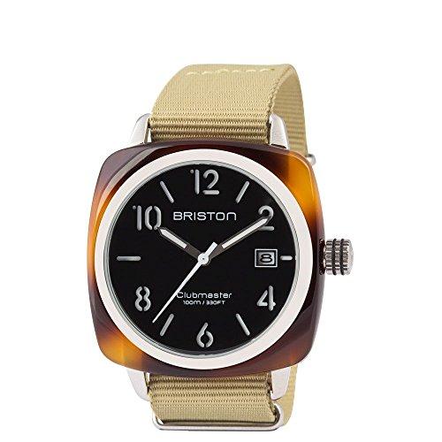 ブリストン BRISTON 腕時計 Clubmaster HMS トレンドウォッチ直輸入品 [並行輸入品]