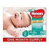 Huggies Ultimate disposable nappies are Huggies softest nappy featuring cotton-like softness to gently hug your baby. The Ultimate nappy range features silky soft sides providing superior protection from leaks and red marks around the legs as...