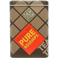 Tea total (ティートータル) / ローズヒップティー 100g入り缶 ニュージーランド産 (ハーブティー / フレーバーティー  / ノンカフェイン) 【並行輸入品】