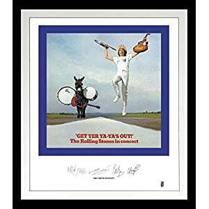 Rolling Stones: Get Yer Ya-Ya's Out Lithograph [Analog]
