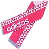 adidasアディダス スリムスポーツタオル  ソーラー (ピンク)