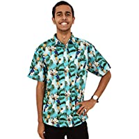 ISLAND STYLE CLOTHING Toucan Party Cotton Mens Hawaiian Shirt
