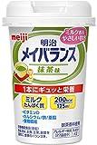 【まとめ買い】明治 メイバランス Miniカップ 抹茶味 125ml×12本