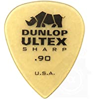 Jim Dunlop Ultex Standard Pick 24枚セット 0.90mm アルテックス シャープ ピック & Musent Custom Players Pick 付き | 433B090-ULT-24P