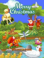 Christmas Coloring Book: A Coloring Book for Adults Featuring Beautiful Winter Flora ls, Festive Ornaments and Relaxing Christmas Scenes