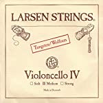 Larsen 4/4 Cello C String Medium Tungsten-Steel 【TEA】 [並行輸入品]