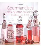 MANGO 「Gourmandises des quatre saisons」 刺しゅう作品・図案集-フランス語