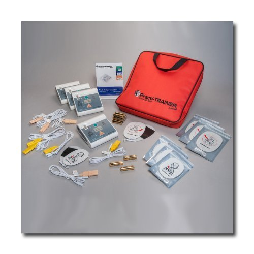 WNL Products 4 AED practi-トレーナーのパックは、心肺蘇生除細動器のトレーニ...