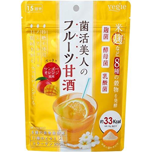 ベジエ 菌活美人のフルーツ甘酒 150g...