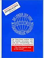 Die Laender der Erde in flaechentreuer Projektion. Peters-Karte. Stand Herbst 2001