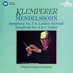 メンデルスゾーン:交響曲第3番「スコットランド」、第4番「イタリア」(クラシック・マスターズ)