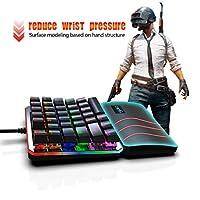 MChoice_PC Keyboard KEYBOARDS ユニセックス・ベビー US サイズ: Product Size: 20.3x15.3x3.5cm カラー: ブラック