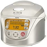 SANYO 圧力IHジャー炊飯器 「おどり炊き」 ステンレスホワイト  ECJ-HG18(SW)