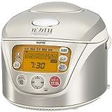 SANYO 圧力IHジャー炊飯器 「おどり炊き」 ステンレスホワイト ECJ-HG10(SW)