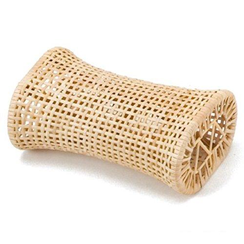 夏の定番 涼感 籐枕 幅約30cm×奥行約18cm×高さ約12cm インドネシア製