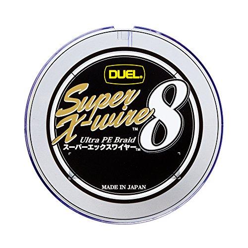 デュエル(DUEL) PEライン スーパーエックスワイヤー8 200m 4.0号 10m×5色 ホワイトマーキング H3614