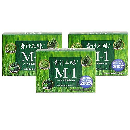 青汁三昧 M-1 (6g 30包入り) ×3箱