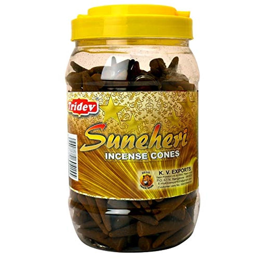食品アナロジー便益Tridev Sunehri フレグランスコーン 500グラムジャー   輸出品質