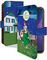 【KEIO】ARROWS M01 手帳型 ケース カバー 赤毛 アン あかげのアン ARROWSM01ケース ARROWSM01カバー アローズ 手帳型ケース 手帳型カバー 童話 夜空 [赤毛のアン 夜空/t0319]