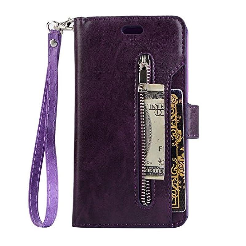 行うムスクアッガGalaxy S9 ケース、INorton 本革ケース 全面保護 衝撃吸収 カード収納可能 分離式カバー 手帳型 スマートケース Galaxy S9対応