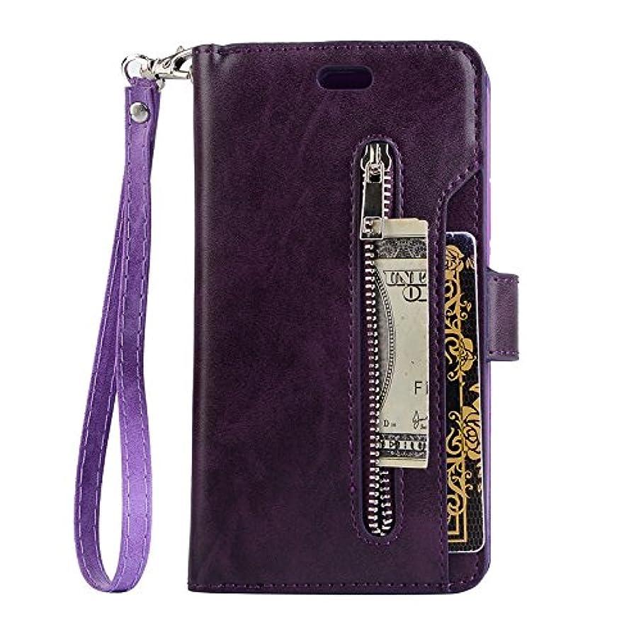 メアリアンジョーンズ不運アジャGalaxy S9 ケース、INorton 本革ケース 全面保護 衝撃吸収 カード収納可能 分離式カバー 手帳型 スマートケース Galaxy S9対応