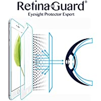 RetinaGuard iPhone6/6s ブルーライト90%カット保護フィルム (フルカバーホワイトベゼル)