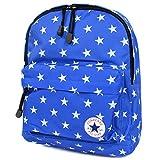 [コンバース] CONVERSE キッズ リュック 男の子 女の子 子供 リュックサック 通学 通園 遠足 A4 軽量 スター 星柄 ALL STAR オールスター 177975 Blue