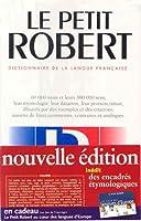 Le Nouveau Petit Robert: Dictionnaire De LA Langue Francaise (Collection Dictionnaires Le Robert/Seuil)