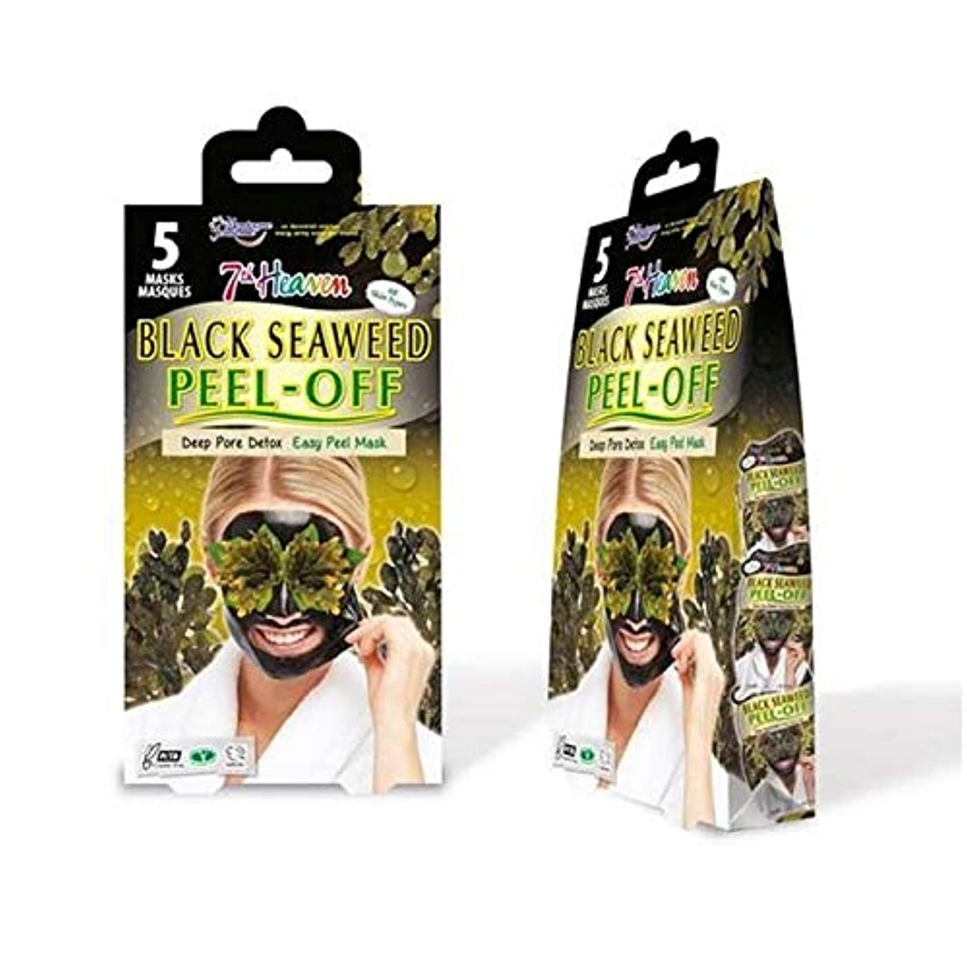 自己排気雑草[Montagne Jeunesse] モンターニュジュネス第七天国黒海藻マスクマルチパックをはがし - Montagne Jeunesse 7th Heaven Black Seaweed Peel Off Mask...