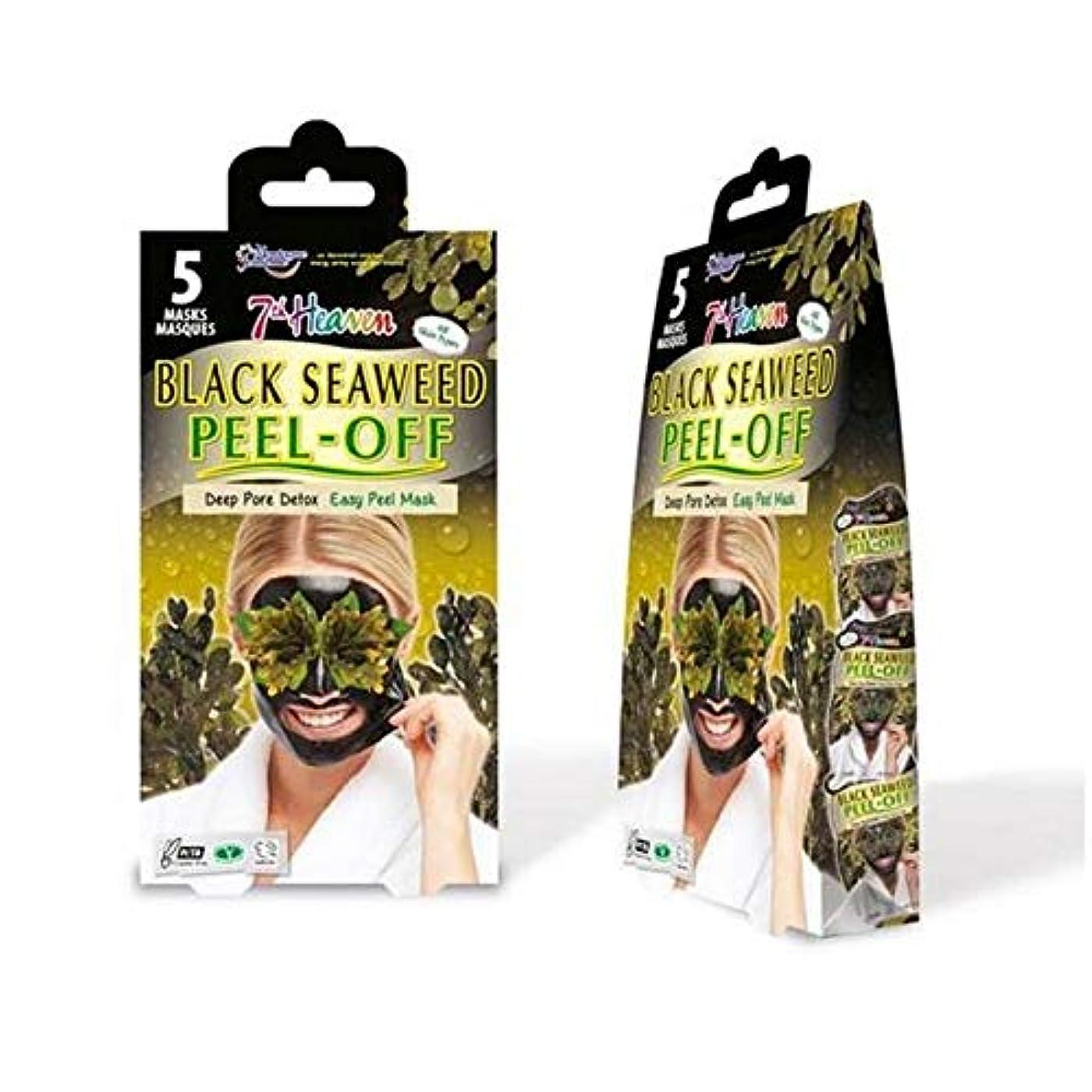 偏心ミリメートル力[Montagne Jeunesse] モンターニュジュネス第七天国黒海藻マスクマルチパックをはがし - Montagne Jeunesse 7th Heaven Black Seaweed Peel Off Mask...