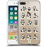 Head Case Designs パンダ ヨガ・アニマルズ2 ソフトジェルケース Apple iPhone 7 Plus/iPhone 8 Plus