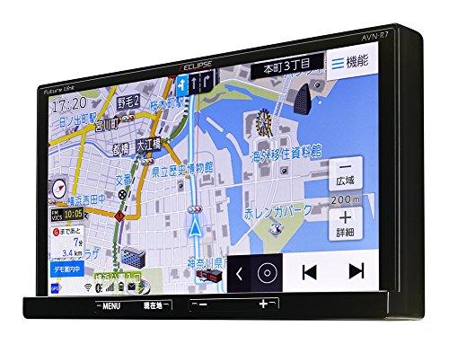 イクリプス(ECLIPSE) カーナビ AVN-R7 地図無料更新 地デジ(ワンセグ/フルセグ)/VICS WIDE/SD/CD/DVD/USB/Bluetooth/Wi-Fi 7型