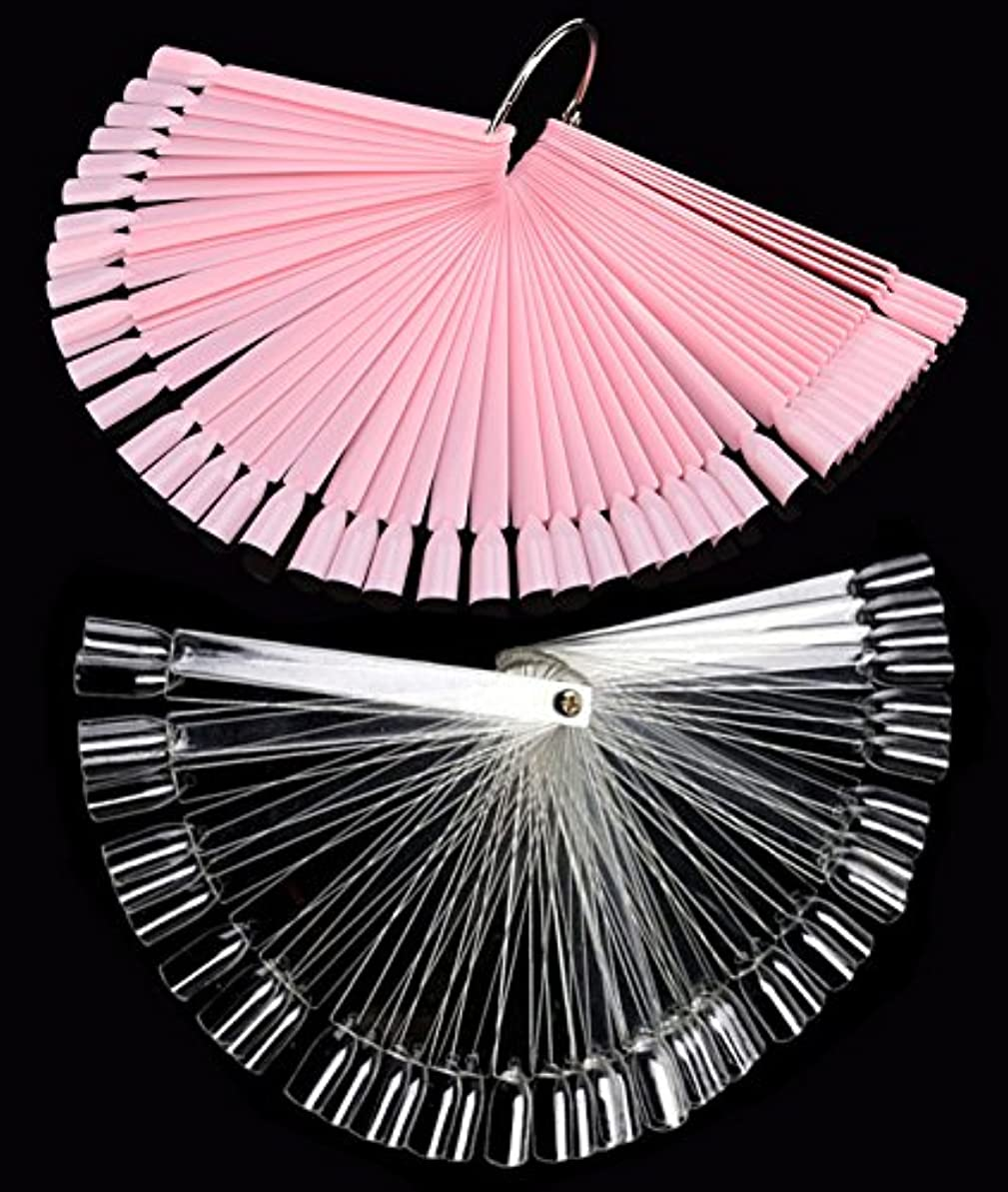 インフレーション大声でフライカイトネイル カラーチャート 100枚 折り畳み式 プロ専用 新人練習用 ネイル カラーチャート