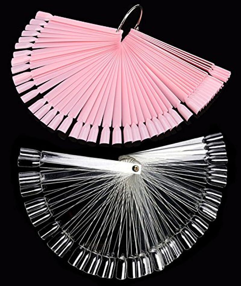 実行愛撫駐地ネイル カラーチャート 100枚 折り畳み式 プロ専用 新人練習用 ネイル カラーチャート