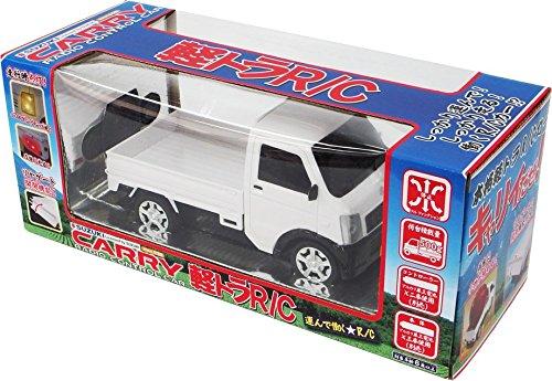 スズキ キャリー(SUZUKI CARRY) 軽トラ 正規認証ラジコン 1/20 (白) レトロタイプ SUZUKI CARRY R/C【レトロタイプ】