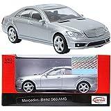 RASTAR Mercedes-Benz S63 AMG Silver 1:43 ダイキャストカーミニ車のおもちゃ [並行輸入品]