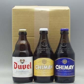 【即日発送】ベルギービール3種(デュベル・シメイ ホワイト・シメイ ブルー)飲み比べセット (通常ギフト)