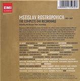 Mstislav Rostropovich Complete Emi Recordings 画像
