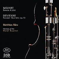 Mozart/Devienne: Sonata/Bassoo
