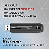 SanDisk エクストリーム GO USB3.1 フラッシュメモリー 64GB (無期限保証)【正規代理店品】 SDCZ800-064G-J57