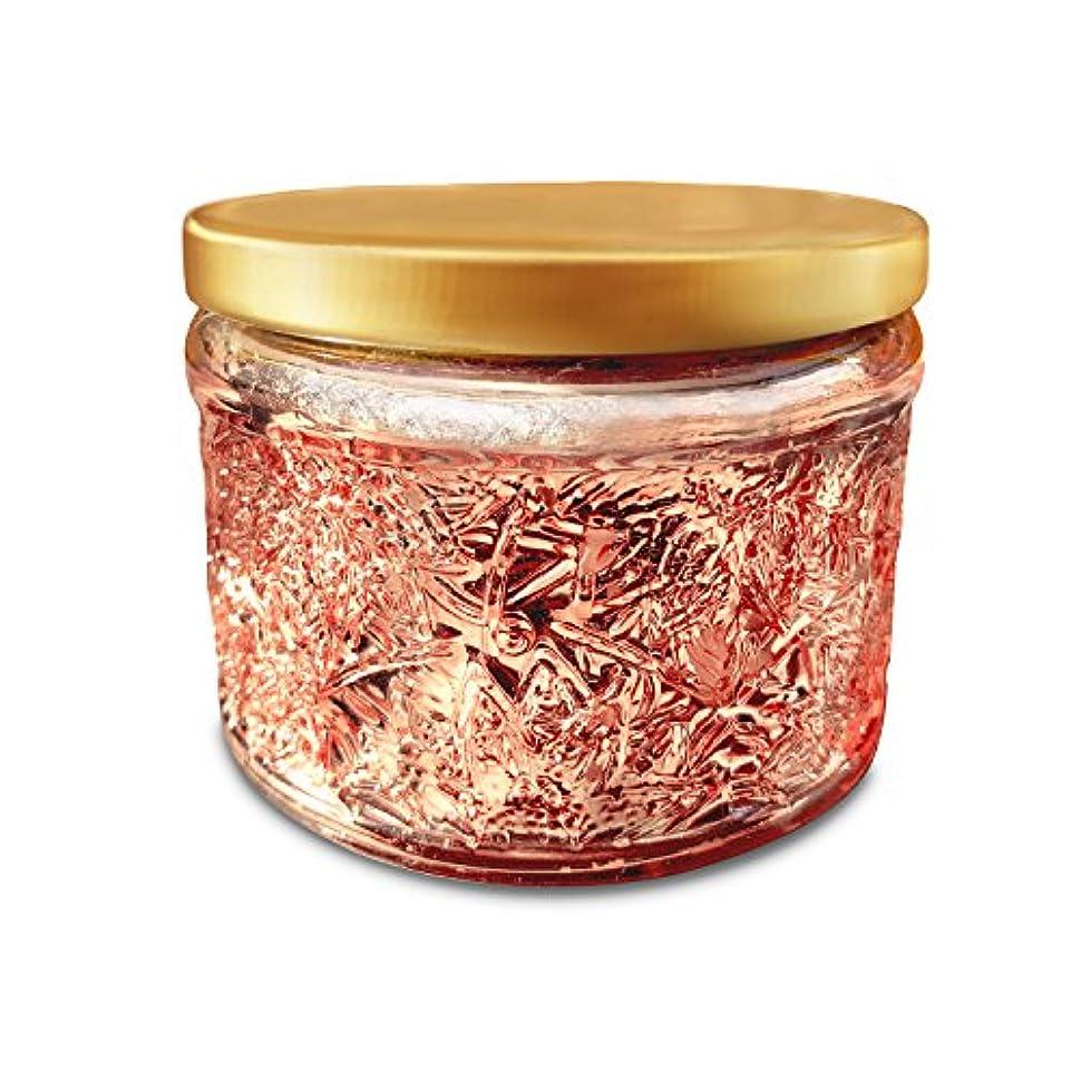 ロック文化柔和Fruit Scented Candle,220 g, 25 h Hours burn, Soy and Coconut Wax, Natural Essential Oil