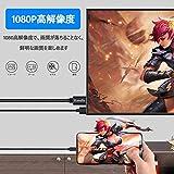 【Handic令和2019最新版】LightningHDMI iphoneHDMI変換 ケーブル iPhon/iPad/iPodをテレビ出力 ライトニング HDMI接続 アダプター 最新iOS12対応 画像