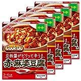 味の素 Cook Do (中華合わせ調味料) あらびき肉入り赤麻婆豆腐用 中辛 140g×5個