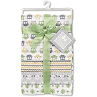 Regent Baby 4 Piece Receiving Blanket, White [並行輸入品]