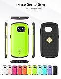 Galaxy S6 Edge SC-04G SCV31 404SC ケース iFace 正規品 Sensation グリーン docomo au softbank ギャラクシー s6 エッジ センセーション スマホ カバー スマホケース スマートフォン