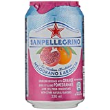 San Pellegrino Melograno E Arancia Can, 330 ml (Pack of 6)