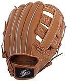GP (ジーピー) 野球 グローブ 軟式 一般 左投げ用 オールラウンド 12.5インチ ブラウン 36883Y
